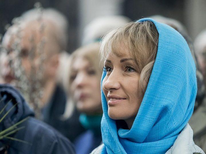 21 апреля 2019 г. Вербное воскресенье в Казанском храме Кемерова