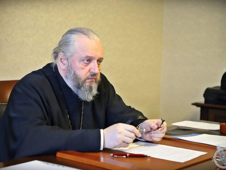Митрополит Аристарх провёл рабочий день в Кузбасской духовной школе