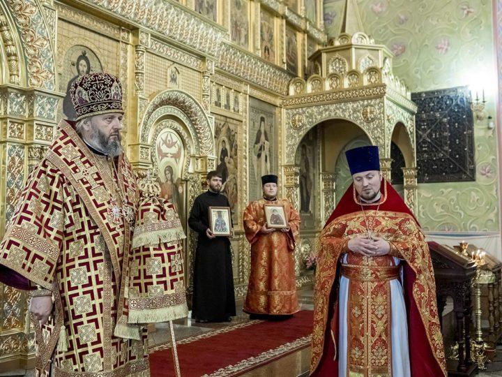 29 апреля 2019 г. Посещение митрополитом Аристархом собора Рождества Христова и Кузбасской семинарии в Светлый понедельник