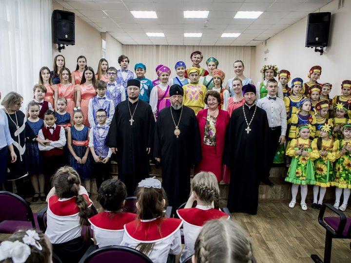 29 апреля 2019 г. Посещение митрополитом музыкальной школы в Новокузнецке