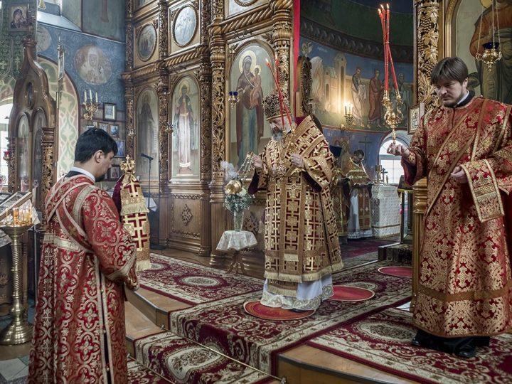 1 мая 2019 г. Божественная литургия в храме иконы Божией Матери «Скоропослушница» Киселевска в Светлую среду
