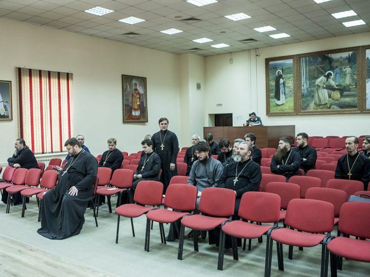 Состоялось очередное заседание Епархиального совета в Кемерове