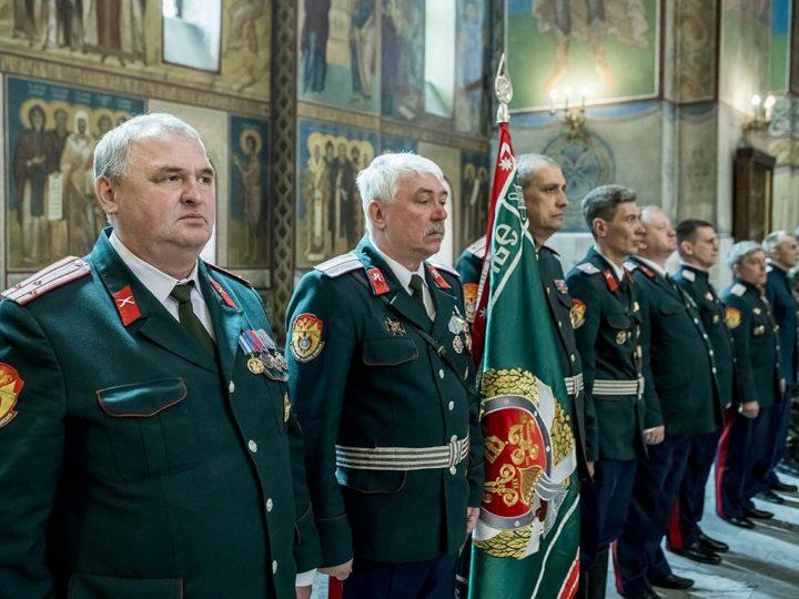 В Знаменском соборе прошла присяга казаков