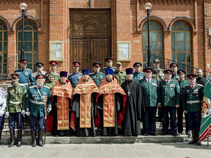 22 мая 2019 г. Принесение присяги казаками в Знаменском кафедральном соборе
