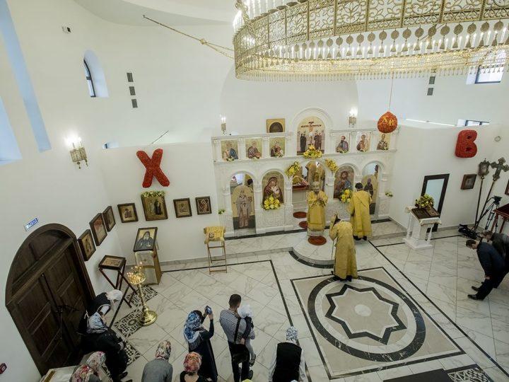 24 мая 2019 г. Престольный праздник храма святых равноапостольных Кирилла и Мефодия в Кемерове