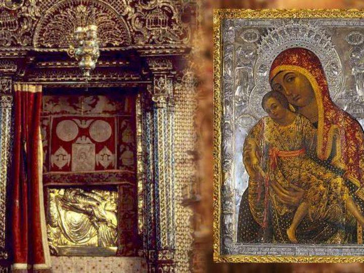 В Кемеровском храме несколько дней будет пребывать икона, привезённая с острова Кипр