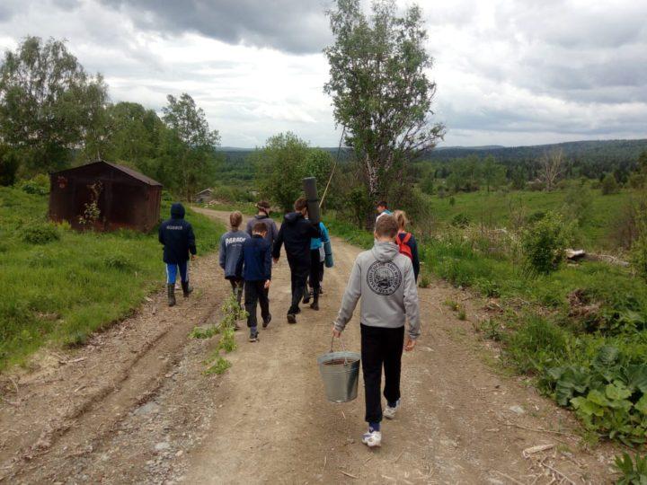 Летняя поездка в посёлок Мурюк