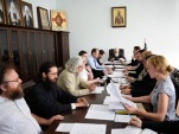 Патриарший экзарх всея Беларуси возглавил заседание Ученого совета Минской духовной академии