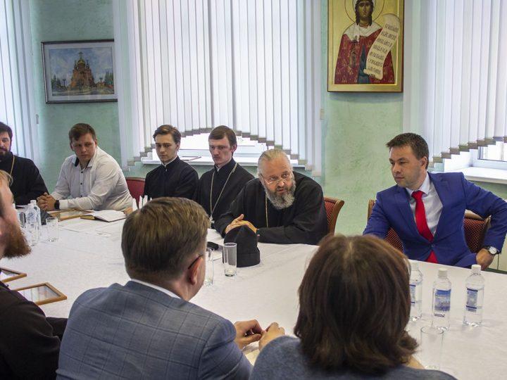 14 июня 2019 г.: глава Кузбасской митрополии провёл совещание по итогам работы Межвузовской ассоциации духовно-нравственного просвещения «София»