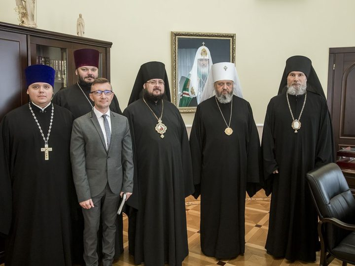 В Кемерове состоялось заседание Архиерейского совета Кузбасской митрополии