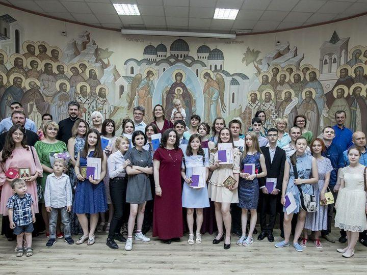 22 июня 2019 г. Вручение аттестатов выпускникам Православной гимназии в Кемерове