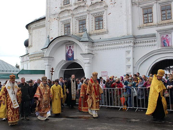 3 июня 2019 г. Первый день шествия Всероссийского Великорецкого крестного хода