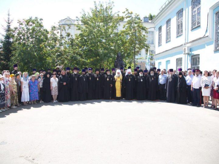 11 июля 2019 г. Участие главы Кузбасской митрополии в торжествах по случаю 25-летия Барнаульской епархии. День первый.