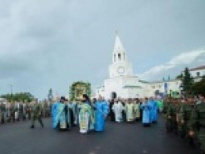 В Татарстанской митрополии прошли торжества по случаю 440-летия явления иконы Божией Матери во граде Казани
