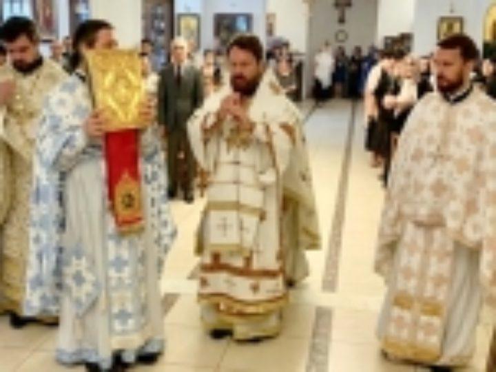 Митрополит Волоколамский Иларион совершил Божественную литургию для соотечественников в Неапольской и Ставрупольской митрополии Элладской Православной Церкви