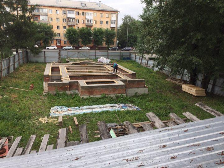 Началось строительство храма Кемеровских святых