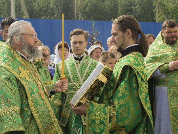 18 июля 2019 г. Празднование памяти преподобного Сергия Радонежского в Кемерове
