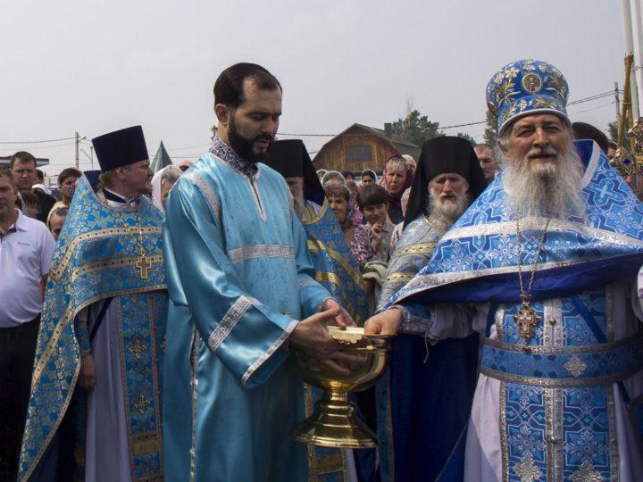 21 июля 2019 г. Престольный праздник в Казанском храме поселка Школьный Прокопьевского района