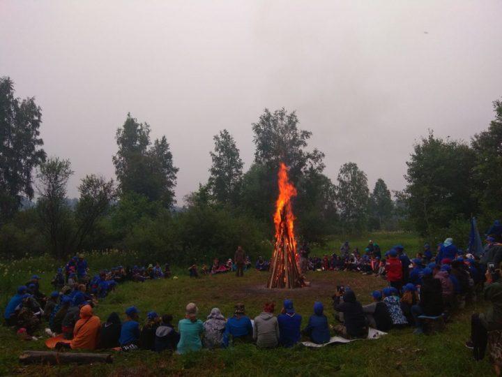 В Кемеровской области прошёл Областной слёт Братства православных следопытов «Мы из Кузбасса»