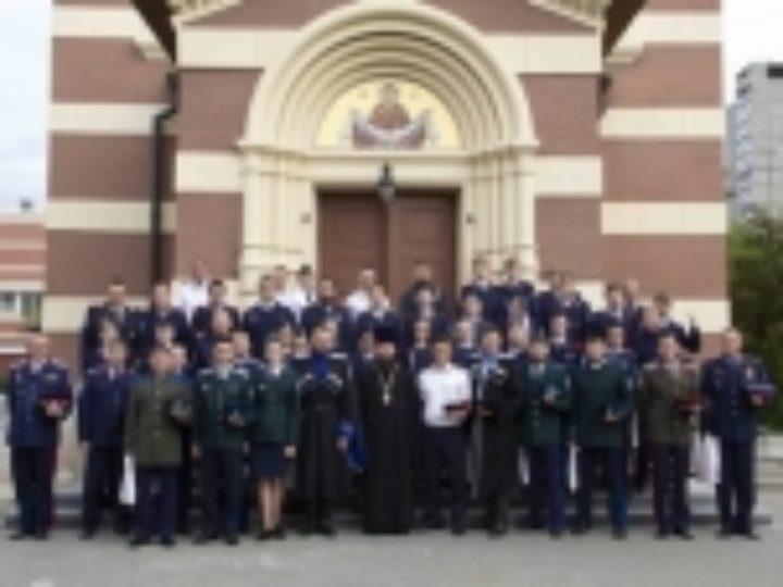 Участники IV Всероссийского форума «Молодежный казачий круг» посетили Синодальный комитет по взаимодействию с казачеством и казачий храм