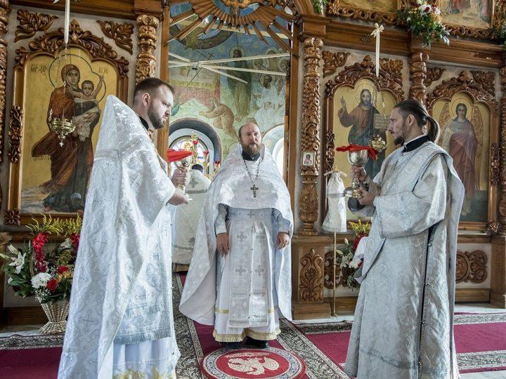19 августа 2019 г. Престольный праздник Спасо-Преображенского собора в Новокузнецке
