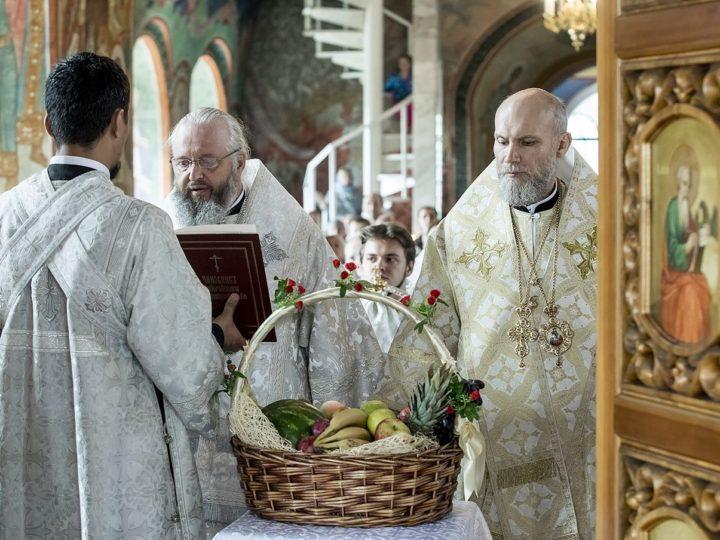 Спасо-Преображенский собор в Новокузнецке встретил престольный день