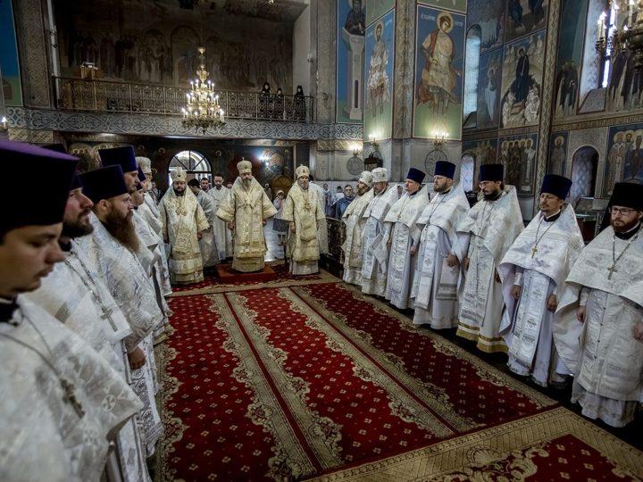 20 августа 2019 г. 13-я годовщина архиерейской хиротонии митрополита Аристарха