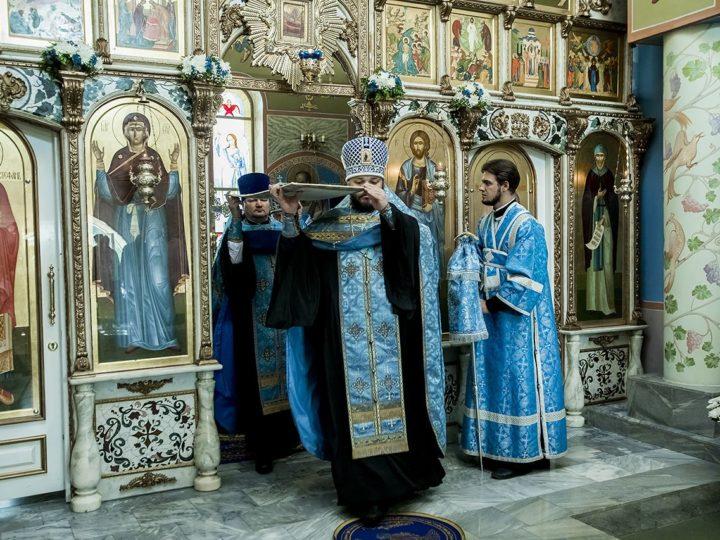 27 августа 2019 г. Всенощное бдение в Свято-Успенском женском монастыре с. Елыкаево в канун престольного дня