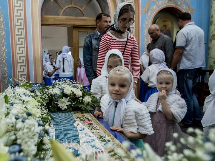 Митрополит Аристарх совершил Всенощное бдение в Свято-Успенском женском монастыре Елыкаева в канун престольного дня