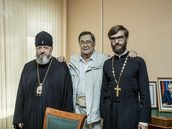 28 августа 2019 г. Встреча митрополита Аристарха с Аманом Гумировичем Тулеевым