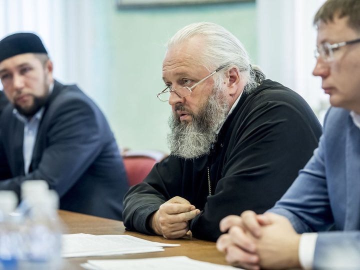 29 августа Митрополит Аристарх провёл встречу с ректорами вузов Кузбасса