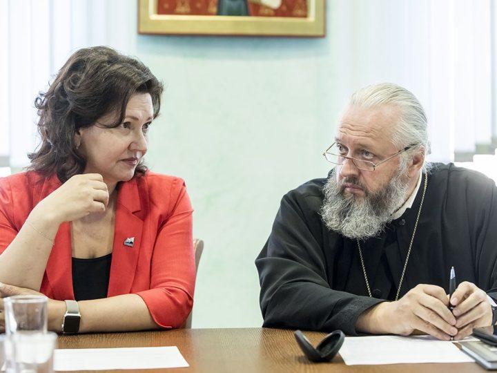 Митрополит Аристарх провёл встречу с ректорами вузов Кузбасса