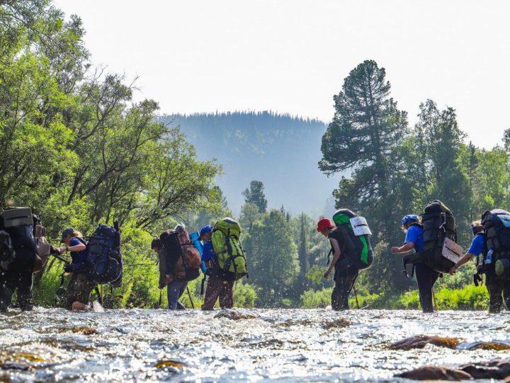 Старшие следопыты Кузбасса совершили «Большой поход» в горы Кузнецкого Алатау