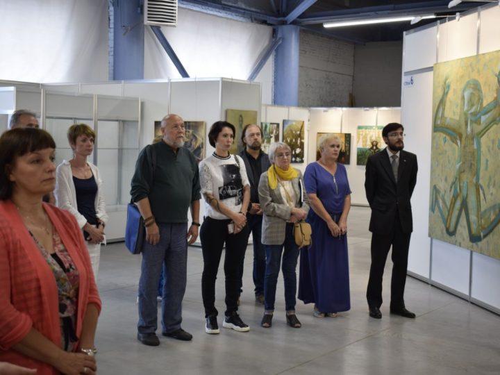 Епископ Владимир освятил выставочный комплекс Выставочной компании «Кузбасская ярмарка»