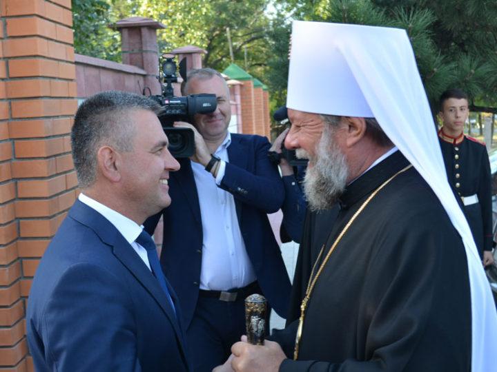 12 сентября 2019: кузбасский архипастырь принял участие в служении праздничной Литургии в годовщину архиерейской хиротонии архиепископа Тираспольского и Дубоссарского Саввы