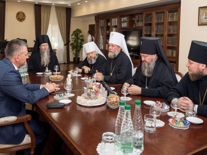 12 сентября 2019: Митрополит Аристарх в составе делегации архиереев посетил администрацию Президента Приднестровской Молдавской Республики