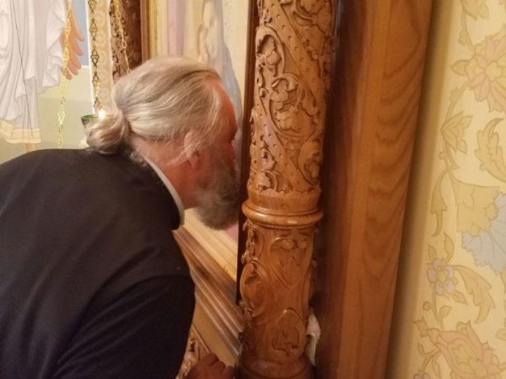 14 сентября 2019: Митрополит Кемеровский и Прокопьевский Аристарх ознакомился с монастырём в Рыбницком районе Приднестровья