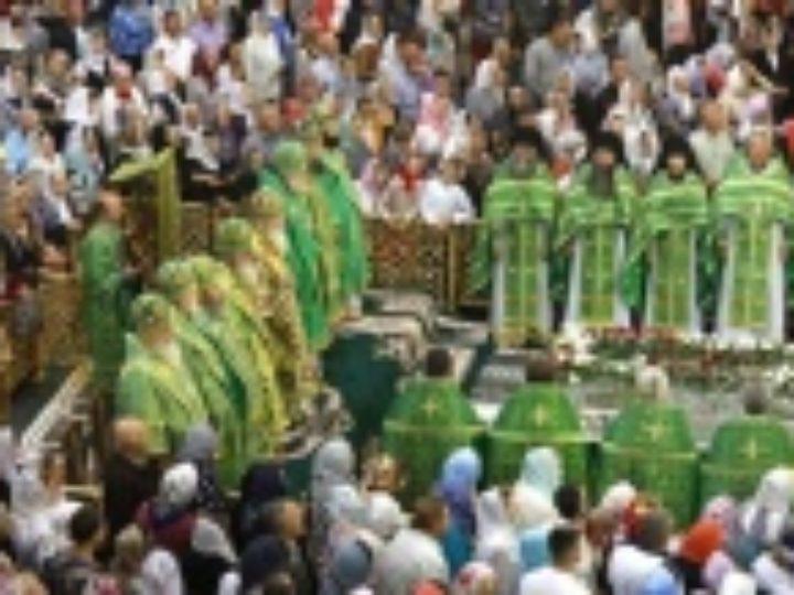 В Почаевской лавре прошли торжества по случаю 360-летия обретения мощей преподобного Иова Почаевского