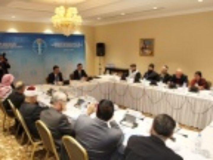 Секретарь ОВЦС по межрелигиозным отношениям принял участие в заседании Рабочей группы Секретариата Съезда лидеров мировых и традиционных религий в Казахстане
