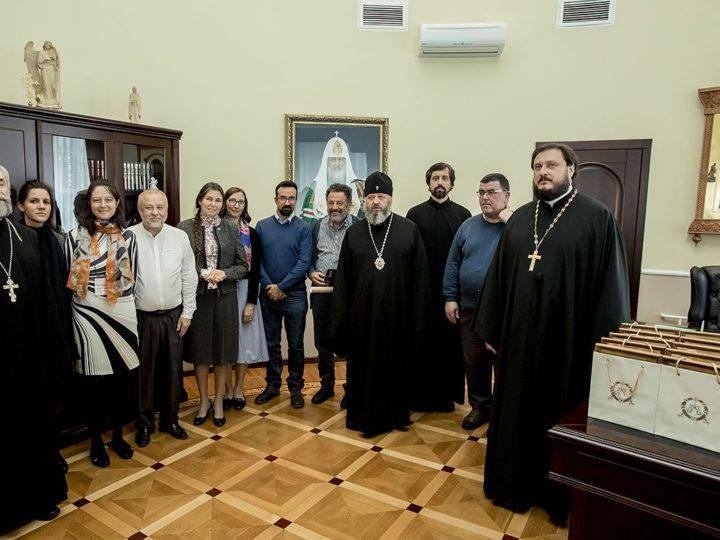 Встреча главы митрополии с представителями педагогических сообществ России и Италии