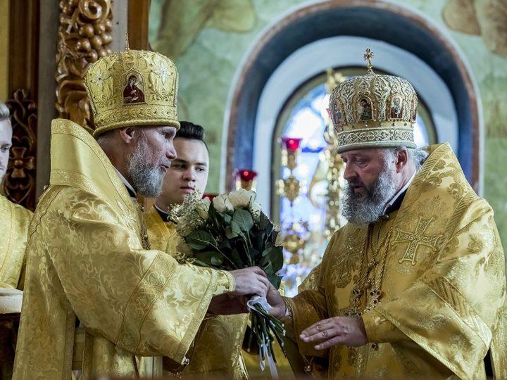 1 сентября 2019 г. Пятилетие архиерейской хиротонии епископа Новокузнецкого и Таштагольского Владимира