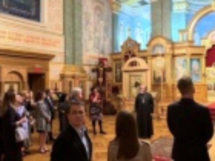 В Патриаршем соборе Нью-Йорка состоялись праздничные мероприятия, посвященные 30-летию прославления Патриарха Тихона в лике святых