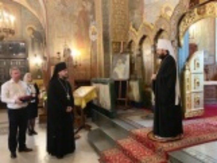 Началась поездка митрополита Волоколамского Илариона в Болгарию