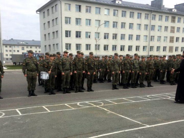 Встреча с военнослужащими 74-й мотострелковой бригады Юрги