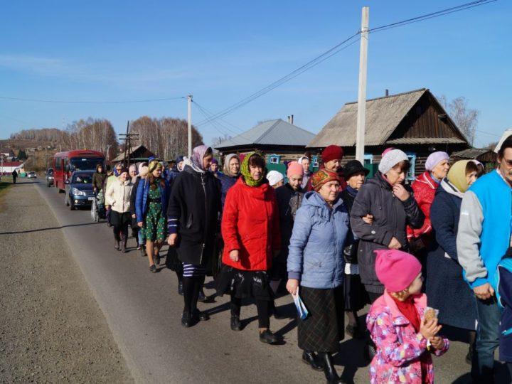Крестное шествие в память о Василии Вербицком