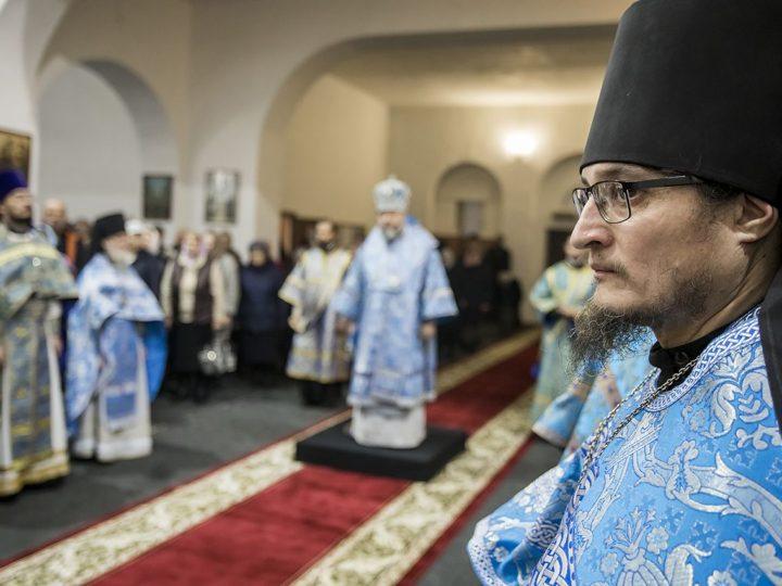 26 октября 2019 г. Престольный праздник в Иверском монастыре Ленинска-Кузнецкого