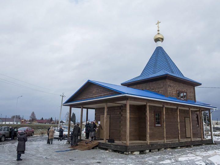 В Новостройке освящён храм в честь Донской иконы Божией Матери