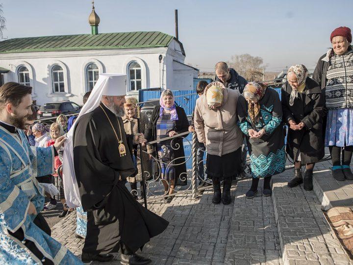 13 октября 2019 г. Всенощное бдение в Покровском храме Прокопьевска в канун престольного праздника