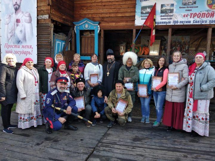 В Прокопьевске состоялась встреча участников Первого всекузбасского конного хода