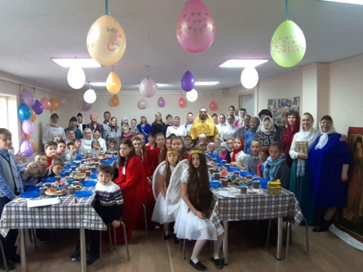 Воскресная школа Ижморского отметила новоселье